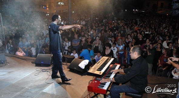 Al Festival del blues tropeano, Larry Ray Band – foto Libertino