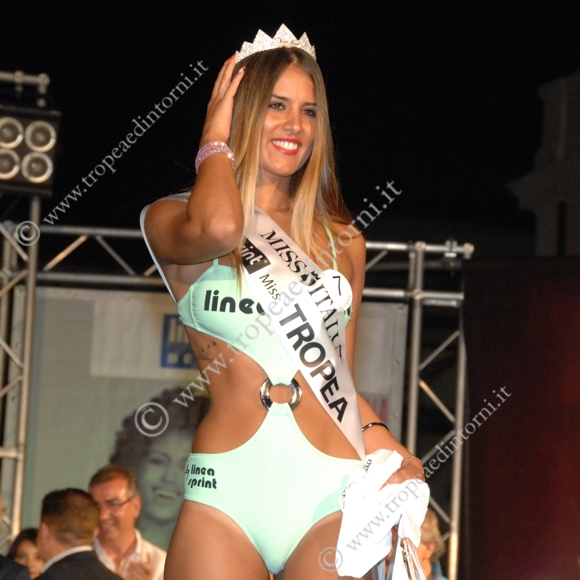 "1° classificata ""Miss Tropea"" Sabrina Rubberto - foto Libertino"