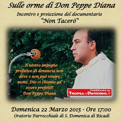 <b>&quot;Sulle Orme di Don Peppe Diana&quot;</b>