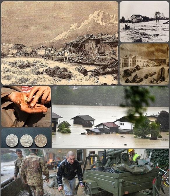 Inondazioni e alluvioni affollano sempre di più le notizie quotidiane. Spesso vengono sottolineate più le responsabilità e le colpe degli uomini per i dissesti causati all'ambiente che la gara di solidarietà a cui questi disastri richiamano con urgenza.