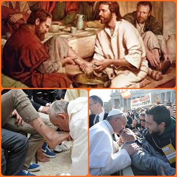 Servire è il dovere del salariato, ma con Gesù ha acquistato dignità e grandezza: si è più grandi quando si serve, soprattutto per amore.