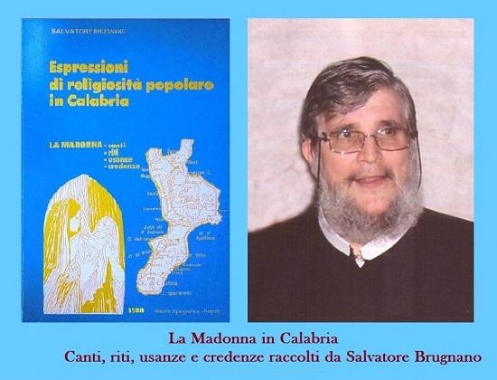 La copertina del terzo volume delle Espressioni di religiosità popolare riguardanti la Madonna in Calabria.