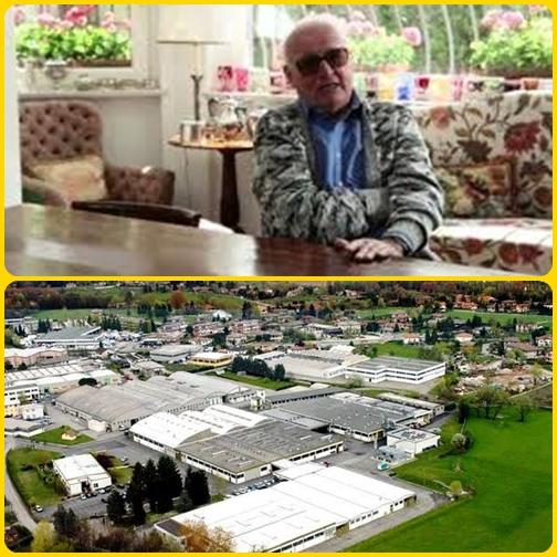 L'imprenditore Piero Macchi, morto a giugno, ha lasciato in eredità per Natale 1,5 milioni di euro agli suoi operai della sua azienda Enoplastic, fondata nel 1957.