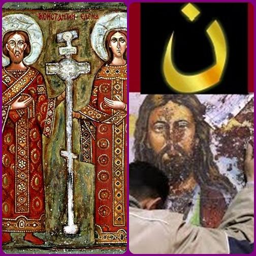 L'imperatore Costanzo Cloro e la moglie S. Elena, genitori di Costantino il Grande. - Le persecuzioni oggi continuano in mezzo a storie di eroica  fedeltà e di pavida infedeltà.
