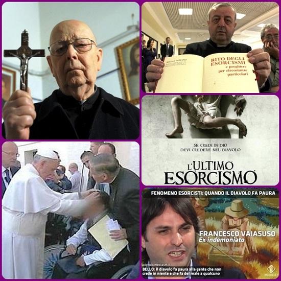 """verifichiamo continuamente nella nostra esperienza di esorcisti, il demonio anche se non vuole è costretto suo malgrado ad affermare le verità della nostra fede cattolica con i gesti, le reazioni e le parole!""""."""