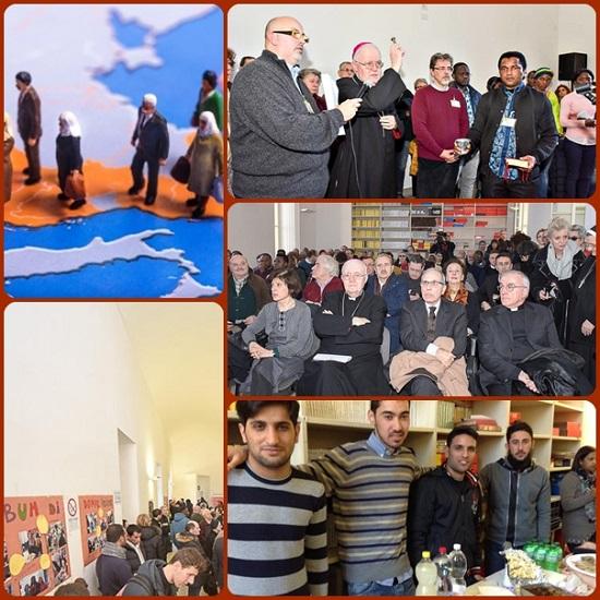 """La Casa dei Migranti: """"Una casa di luce e speranza per tutta la città che favorisce la cultura dell'incontro dove ogni persona viene considerata una risorsa e non un problema per arricchire la comunità civile ed ecclesiale""""."""