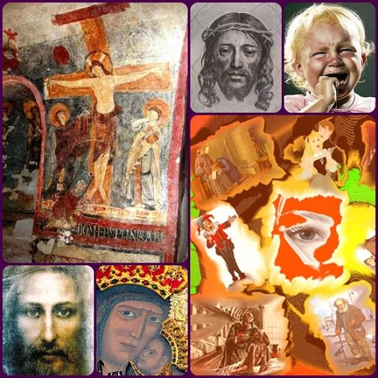 Qual'è il volto di Cristo? La Sindone ce ne dà una immagine come un negativo fotografico. Ma a molti non basta. Gli artisti di tutta la storia cristiana hanno cercato di dare a Cristo un volto, partendo dalle sofferenze degli uomini. E così fece il monaco Epifanio vissuto in Sicilia.
