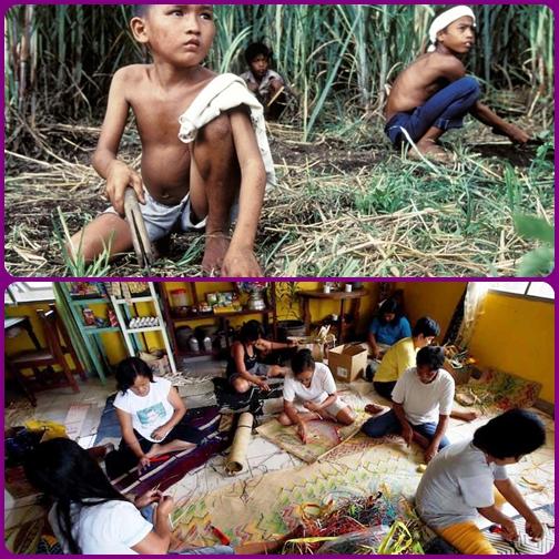 Filippine: quattro milioni di schiavi-bambini, sfruttati per sesso o lavoro. - Non si può stare solo a guardare.
