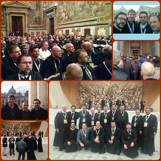 Tra i Missionari della Misericordia, 1.142 in tutto il mondo e 726 presenti a Roma, vi era anche il gruppo dei Missionari Redentoristi.