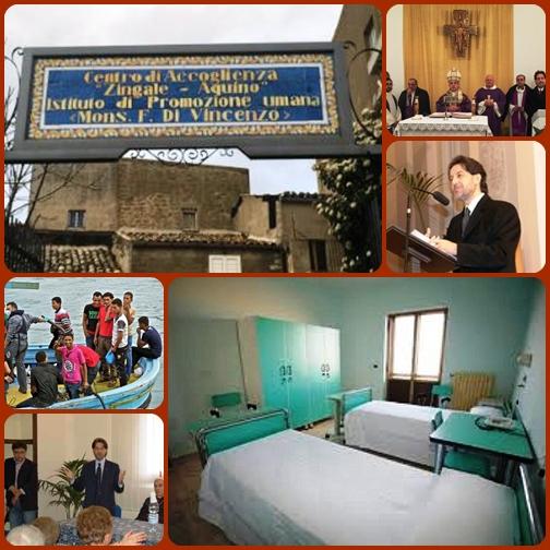 """Nel cuore della Sicilia è stata aperta la """"Porta della Carità"""" presso il Centro di accoglienza """"Zingale-Aquino"""" ad Aidone, che ospita immigrati minori non accompagnati. -"""