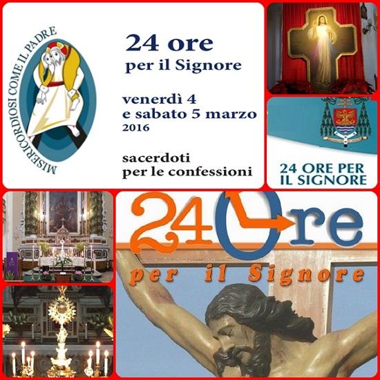 E' in corso, da ieri venerdì a tutt'oggi sabato 5 marzo, la terza edizione delle 24 ore per il Signore, la 'maratona penitenziale' ideata da Papa Francesco e promossa dal Pontificio Consiglio per la Promozione della Nuova Evangelizzazione.