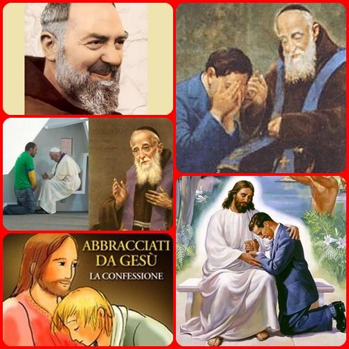 Il sacramento della confessione fa sperimentare al penitente di partecipare alla gioia di Dio Padre, che riabbraccia il figlio prodigo, alla gioia del figlio, che ritrova l'amore della famiglia di Dio. Non è mai troppo tardi per provarlo.
