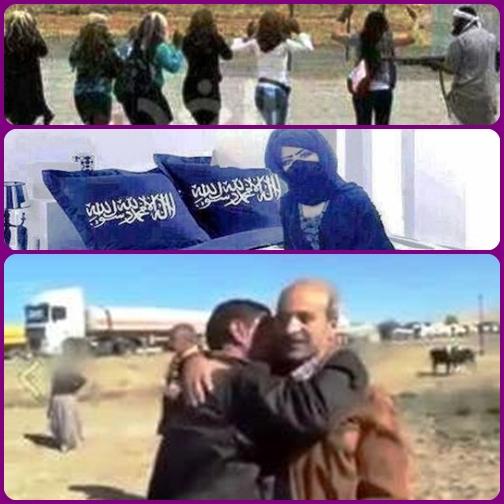 IRAQ - Un uomo, un vero eroe, rischia ogni giorno la vita per salvare ragazze vendute come schiave e restituirle alle proprie famiglie. Un vero fronte di combattimento.