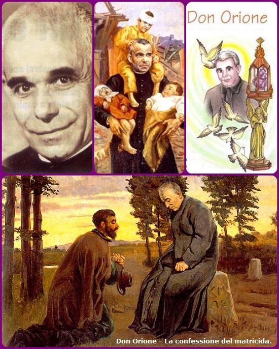 su quel ciglio di strada appena rischiarato nella notte invernale, l'apostolo della carità raccoglieva la confessione del penitente più bisognoso della misericordia di Dio e della sua pace.