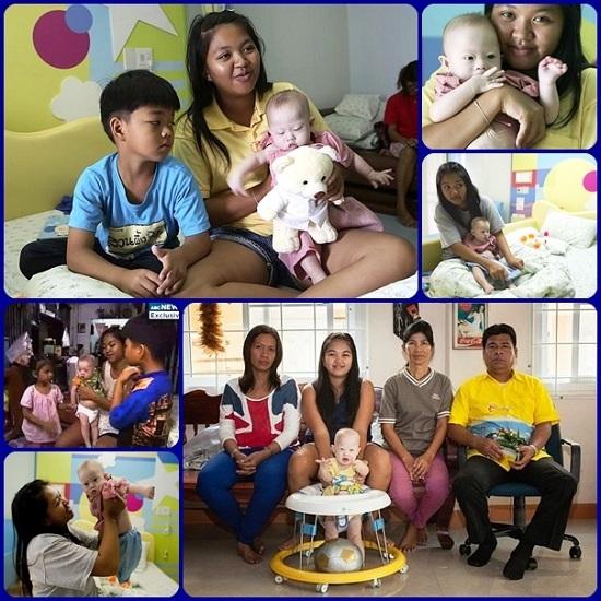 """Una donna tailandese ha affittato l'utero; uno dei due gemelli consepiti era down. I committenti l'hanno rifiutato ed hanno chiesto di abortirlo. L'amore di mamma ha vinto e lei lo ha tenuto. La Federazione europea """"Uno di Noi"""" l'ha premiata per il suo coraggio di mamma."""
