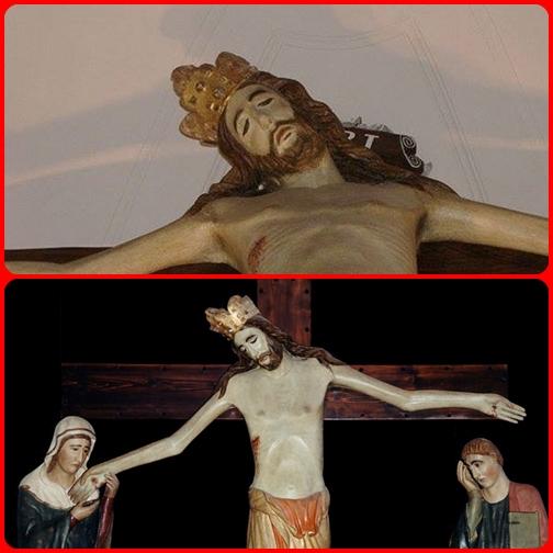 Cristo ha portato i nostri peccati nel suo corpo sul legno della croce.