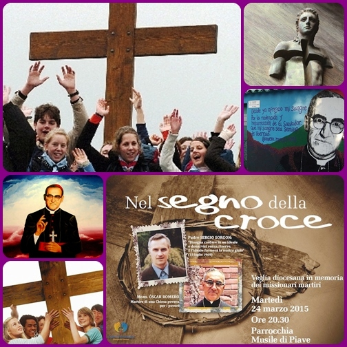 La Giornata di preghiera e digiuno in memoria dei Missionari Martiri è nata nel 1993 per iniziativa del Movimento Giovanile Missionario delle Pontificie Opere Missionarie italiane, scegliendo come data l'anniversario dell'assassinio di Mons. Oscar Arnulfo Romero, Arcivescovo di San Salvador (24 marzo 1980).  Quest'anno raggiunge il suo 23° traguardo nella prospettiva dell'imminente beatificazione di Mons. Romero, che avrà luogo il 23 maggio.