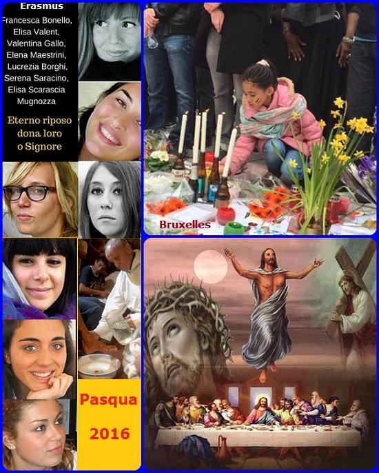 """Buona Pasqua a tutti, con la frase do San Serafino di Sarov: """"Gioia mia, Cristo è risorto!"""" - La morte è stata vinta e non è più l'utlima parola per l'uomo: essa diventa un passaggio per la vita, quella vera, quella eterna. Coraggio, dunque! L'uomo è chiamato a vivere un amore infinito, misericordioso, nonostante i suoi molti peccati. Passiamo dalla morte alla vita!"""