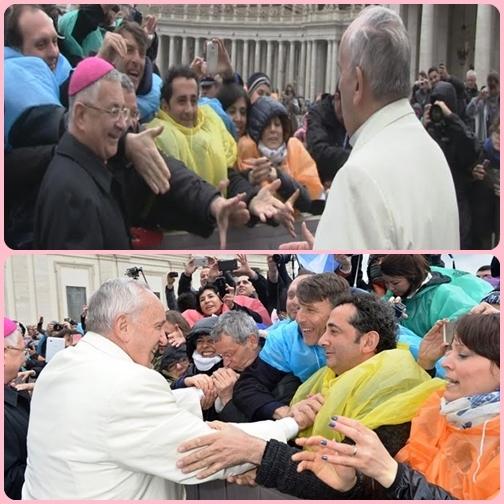 Un messaggio forte arrivato dritto al cuore dei duecento lavoratori che da San Pietro hanno ascoltato con emozione. «Il Papa ci ha esortato a proseguire nella lotta perché questa è una lotta per la dignità del territorio».