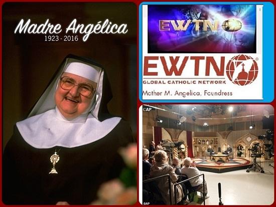 Pur avendo solo una formazione di scuola superiore, nessuna esperienza televisiva e solo 200 dollari in banca, il 15 agosto del 1981 Madre Angelica ha lanciato L'Eternal Word Television Network (EWTN).
