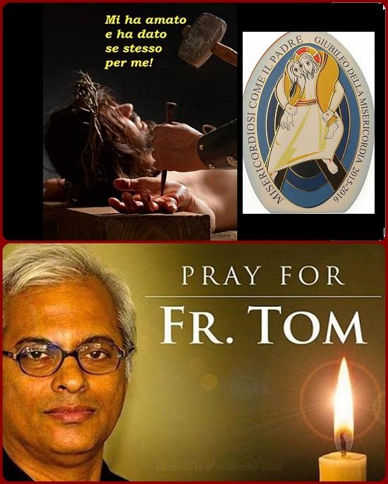 Sui social media corre la voce che Padre Tom Uzhunnalil, scerdote salesiano di Bangalore, rapito da uomini armati legati alla ISIS in Yemen all'inizio di questo mese, sia stato crocifisso il Venerdì Santo.