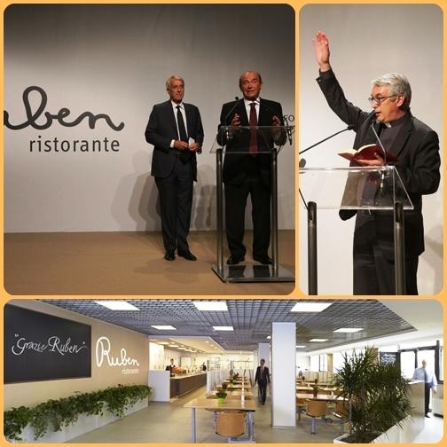 Il ristorante si chiama Ruben, come un contadino che lavorava per i nonni di Pellegrini. Ruben era una persona particolare: sempre sereno e allegro.