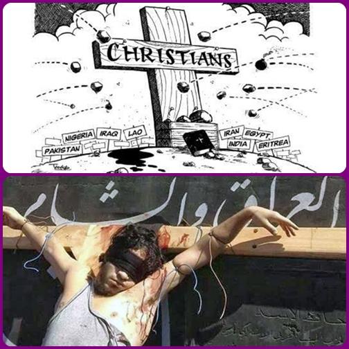 Tanti cosiddetti combattenti per l'Islam credono di compiere un atto di religione, uccidendo e deportando in schiavitù persone di altra fede. Ma essi sfigurano la propria dignità umana e quella di coloro che subiscono i loro oltraggi.