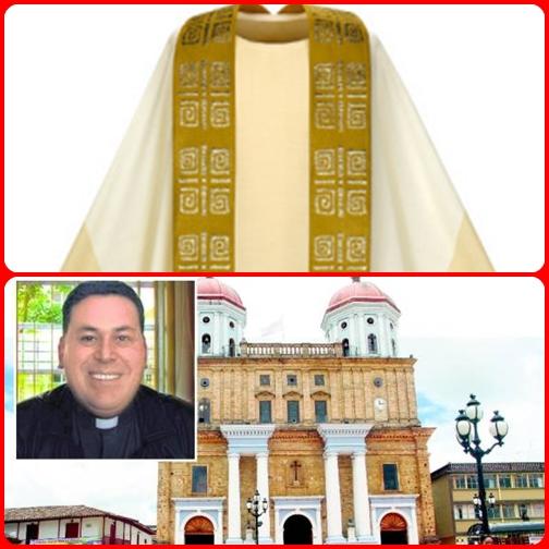 """""""Padre Gregorio è stato salvato dalla casula perché era  larga e il coltello si è impigliato in essa"""", ha detto l'ispettore di Santa Rosa de Osos, Fernando Guzman, sul fatto, secondo il quotidiano El Colombiano."""