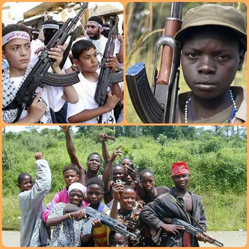 Fermare il fenomeno dei bambini soldato richiede lo sforzo congiunto di capi di governo e di tanta gente di buona volontà: il commercio delle armi resta sempre florido ed arricchisce le tasche di gente senza scrupoli.