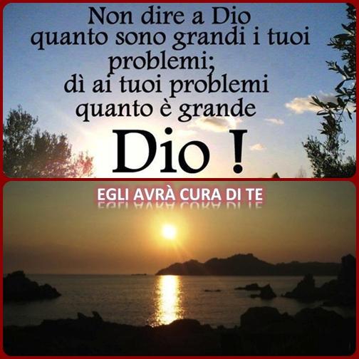 O Signore, nostro Dio, quanto è grande il tuo nome su tutta la terra: sopra i cieli si innalza la tua magnificenza (Salmo 8).