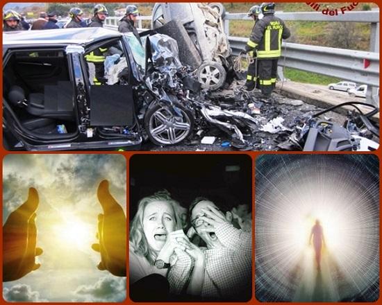 Lo shock terribile di un incidente stradale. Oh se i pianti disperati delle mamme, dei papà, delle mogli, dei mariti potessero dare corpo alla speranza che che c'è in tutti: una vita che non finisce banalmente e inutilmente.