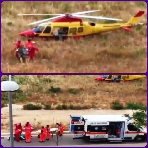 L'elicottero perde la strada, ma la storia ha un lieto fine: il paziente arriva al Policlinico e fortunatamente non è in pericolo di vita.
