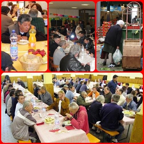 Caritas, una tavola per tutti.C'è una missione, ed è quella di servire e si può servire tutti, preparando una tavola per tutti.