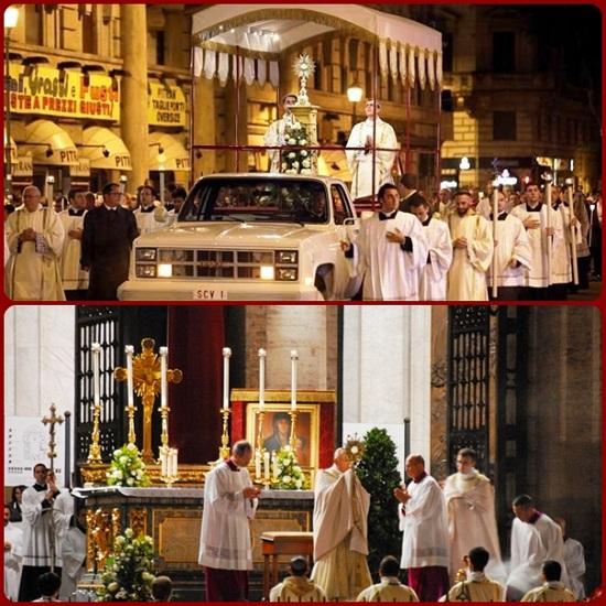 """""""Ecco il pane degli angeli, pane dei pellegrini, vero pane dei figli. Buon pastore, vero pane, o Gesù, pietà di noi:  nutrici e difendici""""."""