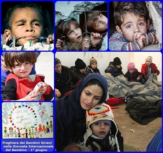 Oggi è la Giornata Internazionale del Bambino: i bambini siriani invitano i bambini di tutto il mondo ad unirsi alla loro preghiera per la pace.