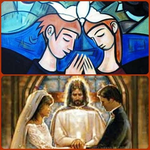 L'amore è puro dono, pura gioia di pensare all'altro, di togliersi dal centro della propria vita per lasciare all'altro lo spazio d'onore... L'amore nel matrimonio manifesta il grande Mistero dell'amore di Dio per l'Umanità.