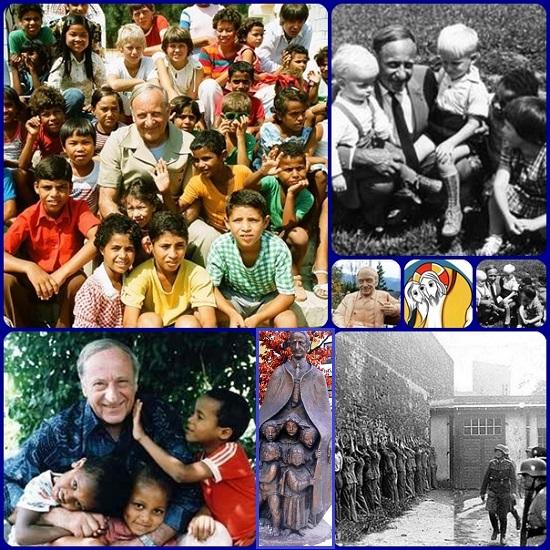 L'austriaco Hermann Gmeiner (1919– 1986), noto per essere stato un filantropo ideatore e fondatore dei Villaggi dei Bambini SOS, decise di dedicare la sua vita ai piccoli abbandonati, senza famiglia, quand fu salvato da un gruppo di ragazzi coraggiosi mentre con altri partigiani stava per essere fucilato dai tedeschi.