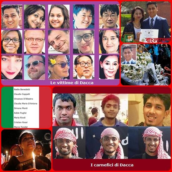 L'orrenda strage di Dacca ha sconvolto l'opinione pubblica mondiale: 20 vittime torturate e uccise da un gruppo di giovanissimi terroristi, provenienti da famiglie bene e istruiti, il sorriso sulle labbra e il buio nel cuore. E la commovente storia di Faraaz Hossain che pagato con la propria vita la scelta di restare con le sue amiche: una storia che dovrebbe entrare subito nei libri di scuola di tutto il mondo.