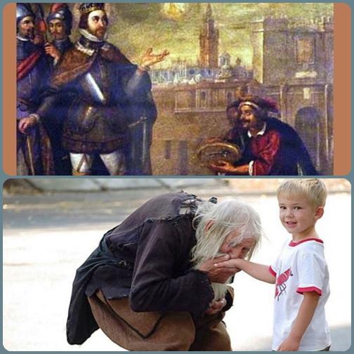 """""""Ogni volta che avrete donato al più piccolo dei miei fratelli, l'avete donato a me!"""" - Le sorprese del Signore ci sorprenderanno sempre."""
