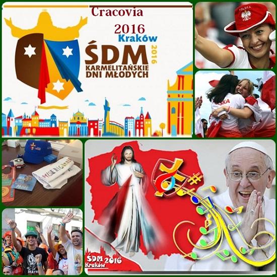 Domani si apre la XXXI Giornata mondiale dei giovani (Cracovia, 25-31 luglio 2016). Papa Francesco starà in mezzo a loro, camminerà con loro e preghera con loro. Una forte attesa di speranza per questi nostri tempi.