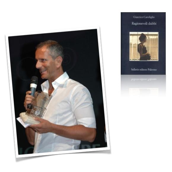 2- Gianrico Carofiglio con Ragionevoli dubbi (Sellerio)