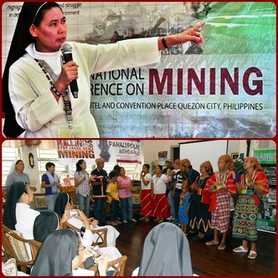 Suor Stella Matutina, la vincitrice dell'edizione 2015 del Premio Weimar per i diritti umani ha 47 anni ed è nota per le sue campagne contro le estrazioni minerarie nella regione filippina meridionale di Mindanao in difesa delle popolazioni indigene.