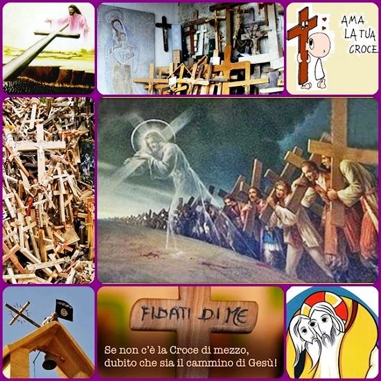 Prenderò allora la mia croce dalle mani di Dio, e in essa gusterò la carezza di Dio. Stringermi ad essa come ci si lega al sedile dell'aereo e ne sentirò la leggerezza. L'amerò come l'amore più grande e scoprirò che in essa potrò rivivere e ritrovare il Risorto.