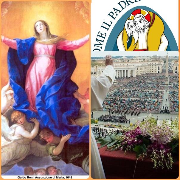Papa Francesco nei giorni scorsi, avvicinandosi la solennità dell'Assunzione, ha nuovamente messo sotto la protezione della Madonna il Giubileo straordinario della Misericordia che si aprirà il prossimo 8 dicembre.