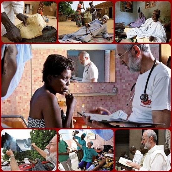 """La storia di un'amicizia trentennale che ha salvato la vita a centinaia di persone. L'amicizia tra """"il frate ed il califfo"""", tra il medico chirurgo missionario e il capo spirituale musulmano, califfo di Kiota, una grande città del Niger."""