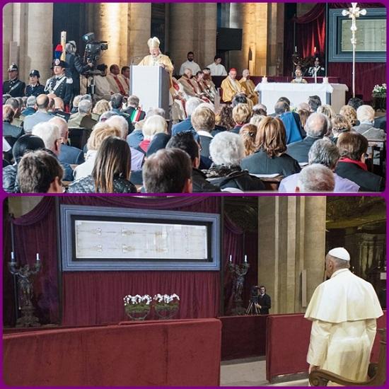Torino - 1.200.000 euro raccolti dalle offerte dei pellegrini in visita alla Sindone, su richiesta di Papa Francesco, saranno devoluti a sostenere la criticità di famiglie in difficoltà.