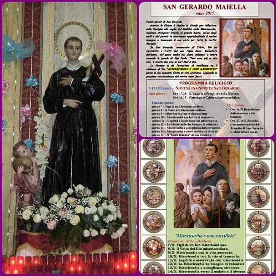 """Da oggi, 7 ottobre, nel mondo redentorista, inizia la Novena a San Gerardo Maiella, chiamato affettuosamente da alcuni biografi """"il pazzerello di Dio"""""""