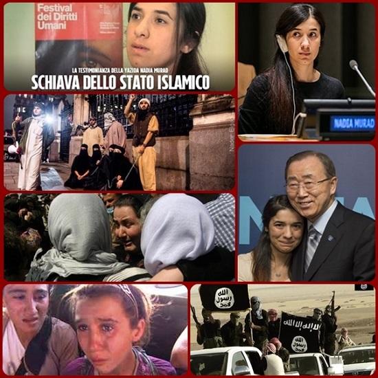 L'ONU ha una nuova ambasciatrice di «buona volontà»: è Nadia Murad Basee Taha, la ragazza yazida che per tre mesi è stata schiava del cosiddetto stato islamico (Is). Si aggiunge agli altri ambasciatori di buona volontà che hanno seguito da vicino il vertice su rifugiati e migranti