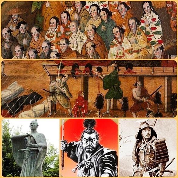 La predicazione di San Francesco Saverio e dei gesuiti in Giappone incontrò il favore dlla gente e dell'imperatore. Ma verso la fine del 1500 (1583-85) si scatenò una crudele persecuzione contro i convertiti al cristianesimo: la testimonianza coraggiosa delle donne giapponesi cristiane impressionò tutti, anche l'imperatore e l'imperatrice.