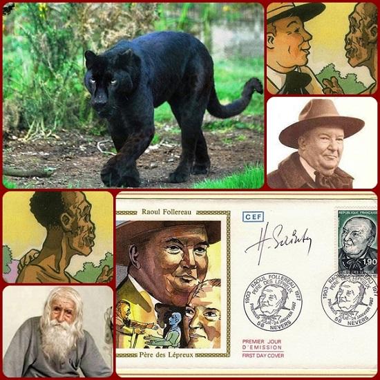 Raoul Follereau (1903–1977) oggi è ricordato e celebrato come l'apostolo moderno dei lebbrosi. Infatti durante un safari in Africa, mentre sparava alle bestie feroci, scoprì il mondo dei lebbrosi e ne divenne l'apostolo, divenendo l'ispiratore dell'Associazione italiana amici di Raoul Follereau che dal 1961 aiuta e difende i diritti dei malati di lebbra in tutto il mondo. Fu brillante giornalista, filantropo e poeta francese. Nei suoi scritti si trovano storie come questa.
